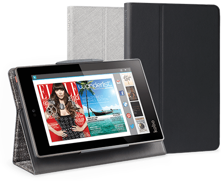 Kobo arc7 hd e reader bekijk online e readers en ebooks for Housse kobo arc 7
